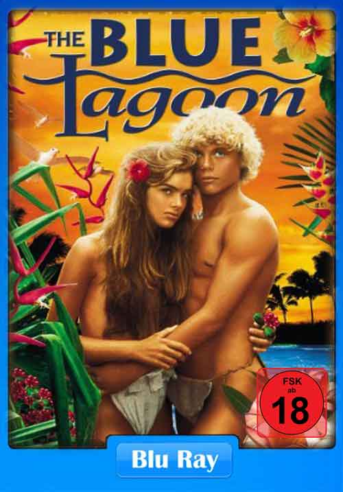 [18+] The Blue Lagoon 1980 200MB HEVC BluRay Poster