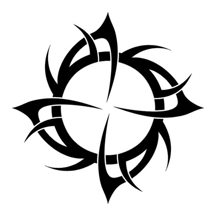 Spiral, Kamelot Tattoo-Designs-Tribal-Strength