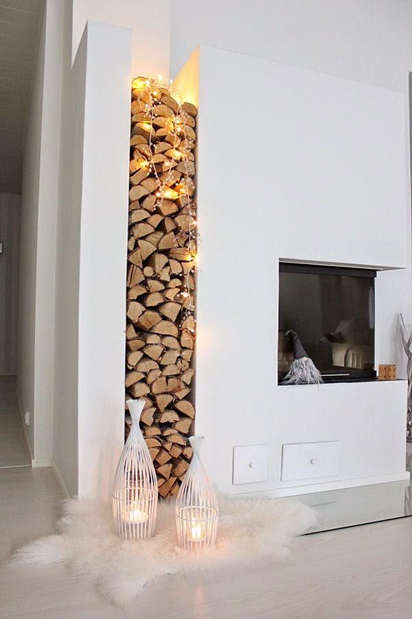 conseils déco et relooking: 25 idées de stockage du bois de ...