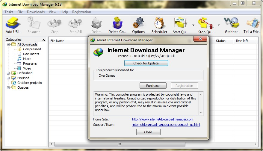 Internet downloader manager 6