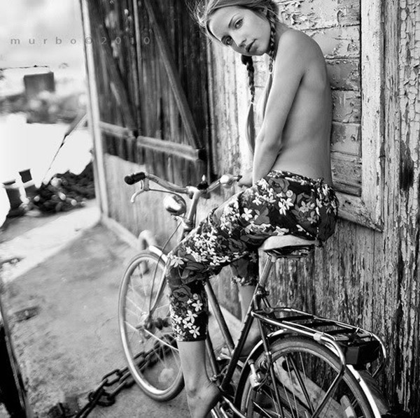 Mulheres E Bicicletas