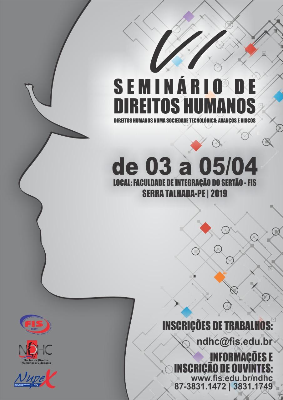 VI Seminário de Direitos Humanos - FIS