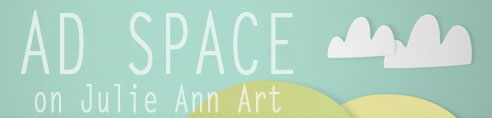 October Giveaway #7: Julie Ann Art Ad Space