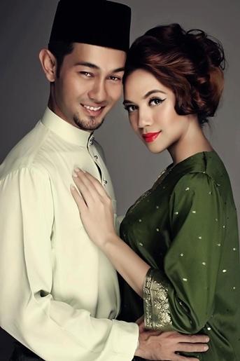 Gambar Kahwin Farid Kamil Dan Diana Damielle