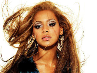 Beyonce Waving Hair Face HD Wallpaper