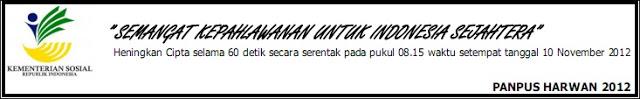 SELAMAT HARI PAHLAWAN 10 NOVEMBER 2012