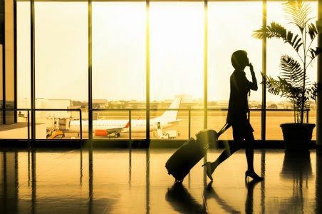 Woman-In-Airport