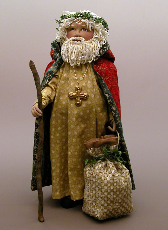 Deanna s distractions old world santa e pattern now available