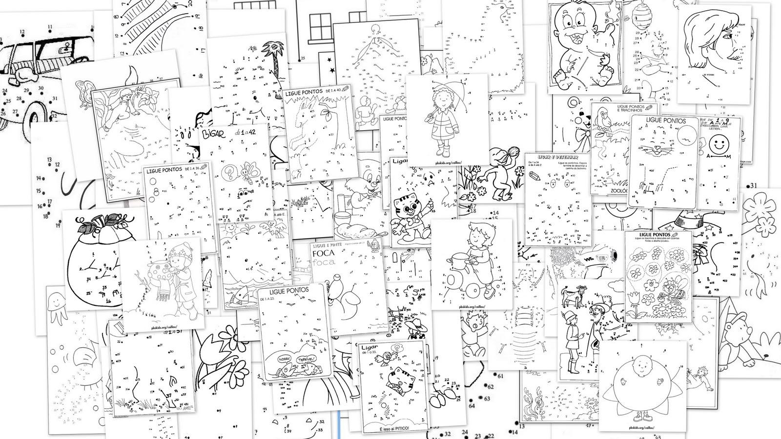 Manualidades para niños: Collage dibujos infantiles