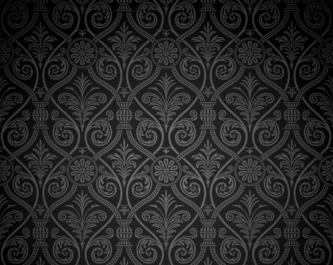 Free vector grey damask ancient for Drawing websites no download