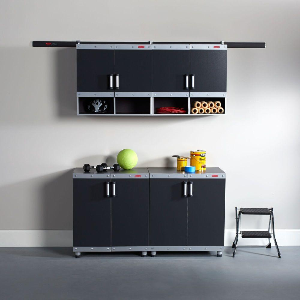 Laminate garage cabinets