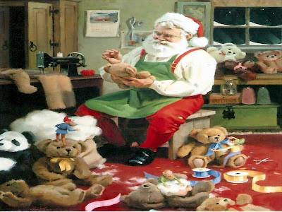 Božićne slike čestitke besplatne pozadine za desktop djed Mraz download free wallpapers e-cards Christmas Santa Claus