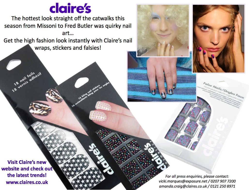 Sssh… Its a secret…I'll tell you the best place to get on trend nails….