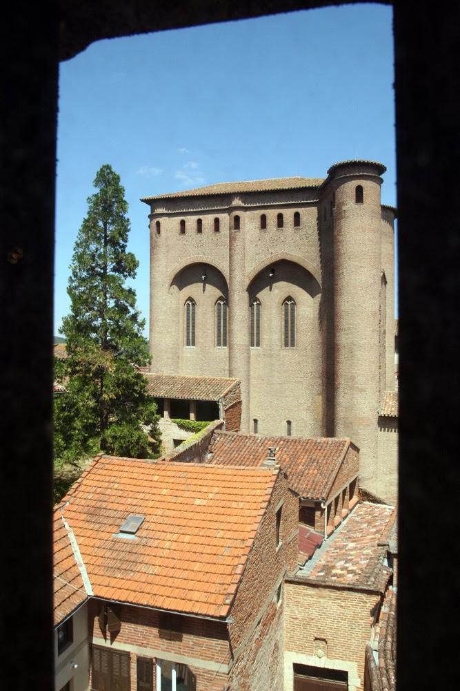 Bisschoppelijk paleis in Albi waar het museum van Toulouse-Latrec zich bevindt