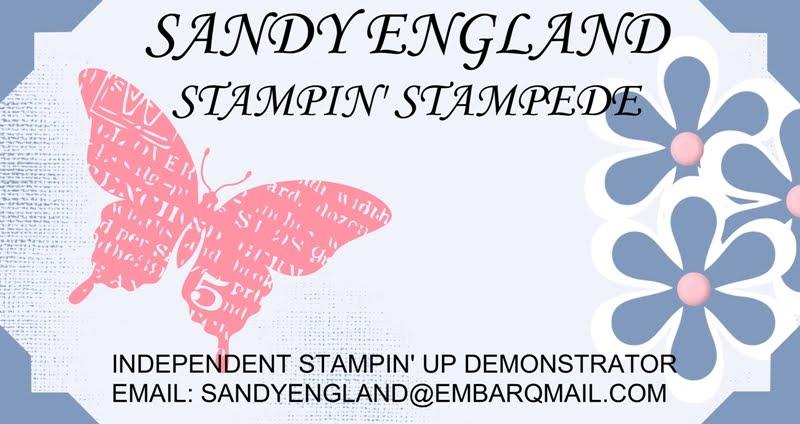 Sandy England Stampin' Stampede