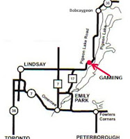 image Gamiing Nature Centre Kawartha Lakes Map