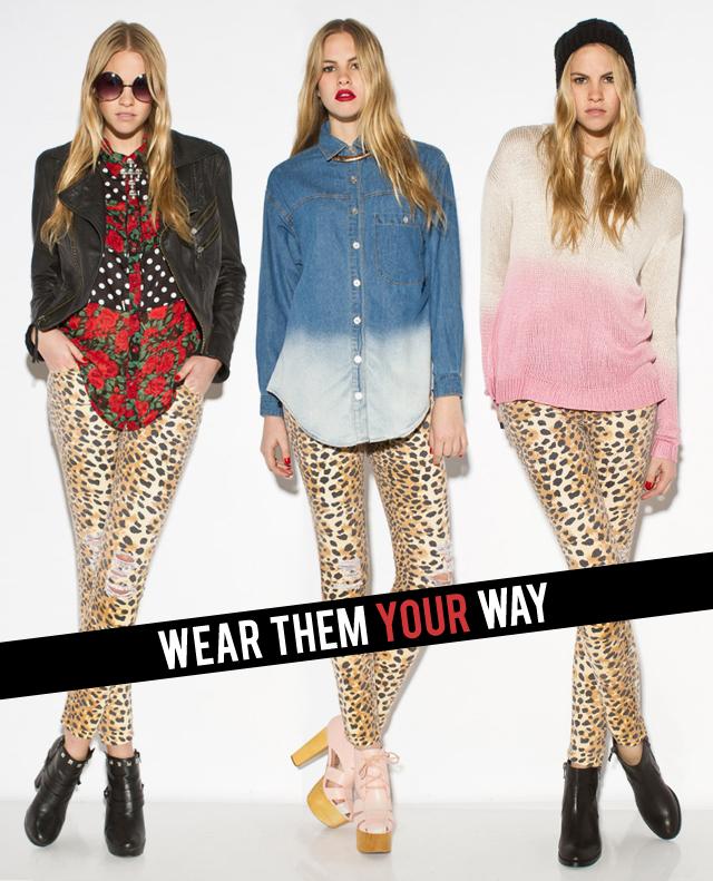 Market HQ Blog: The Leopard Print Jean