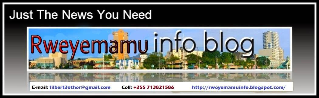 Rweyemamu info blog