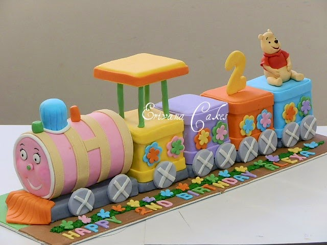 Kids Train Birthday Cakes