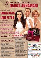 Dancs Annamari, Budapesti Operettszínház, operett, Janza Kata, musical, Laki Péter,