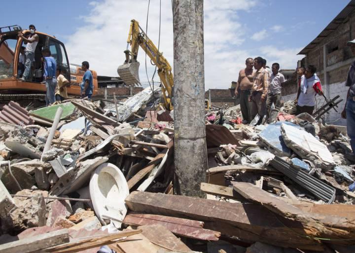 Terremoto - Ecuador -