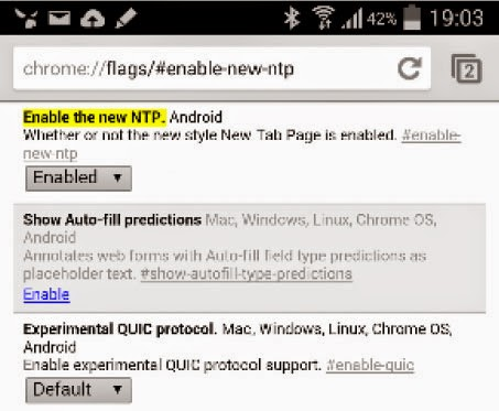 Mempercepat Google Chrome Di Android
