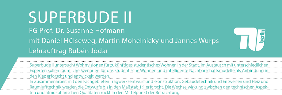 Superbude - TU Berlin - Fak. IV - Prof. Dr. Susanne Hofmann