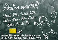 Novo u Ladies Fitness club Vladica