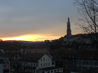 Sunset Bern Switzerland
