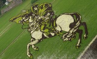 seni menanam padi