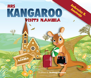 Mrs Kangaroo Vists Namibia