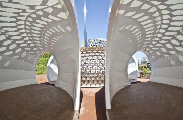 Kreod Pavilions - Phong cách kiến trúc kiểu mới tại London.