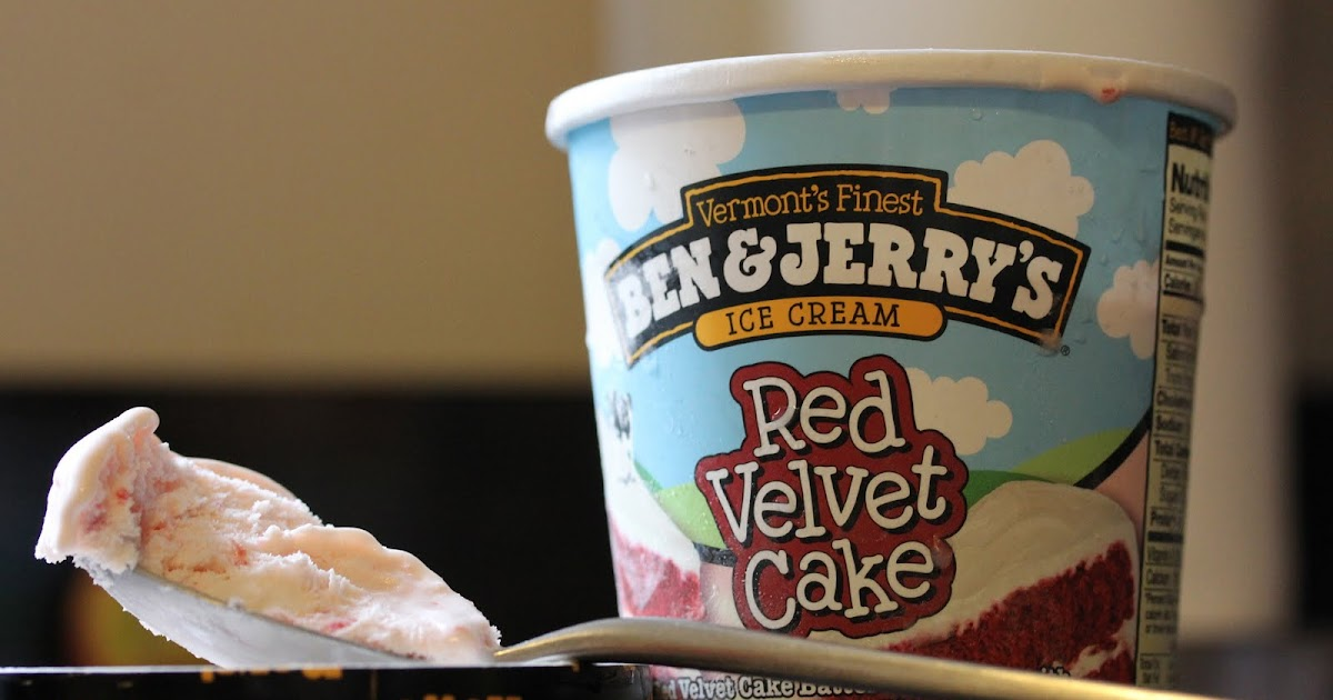 Ben And Jerry S Red Velvet Cake Ice Cream Review