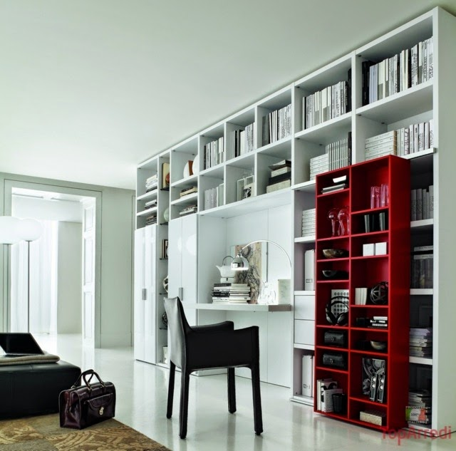 Bookshelves Living Room Model living room bookshelves and shelving units  20 elegant ideas