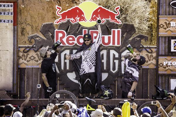 2015 Red Bull Rampage Podium