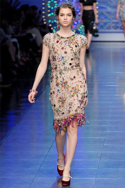 dolce gabbana69 - Dolce&Gabbana Ilkbahar 2012 | Milan Moda Haftas�