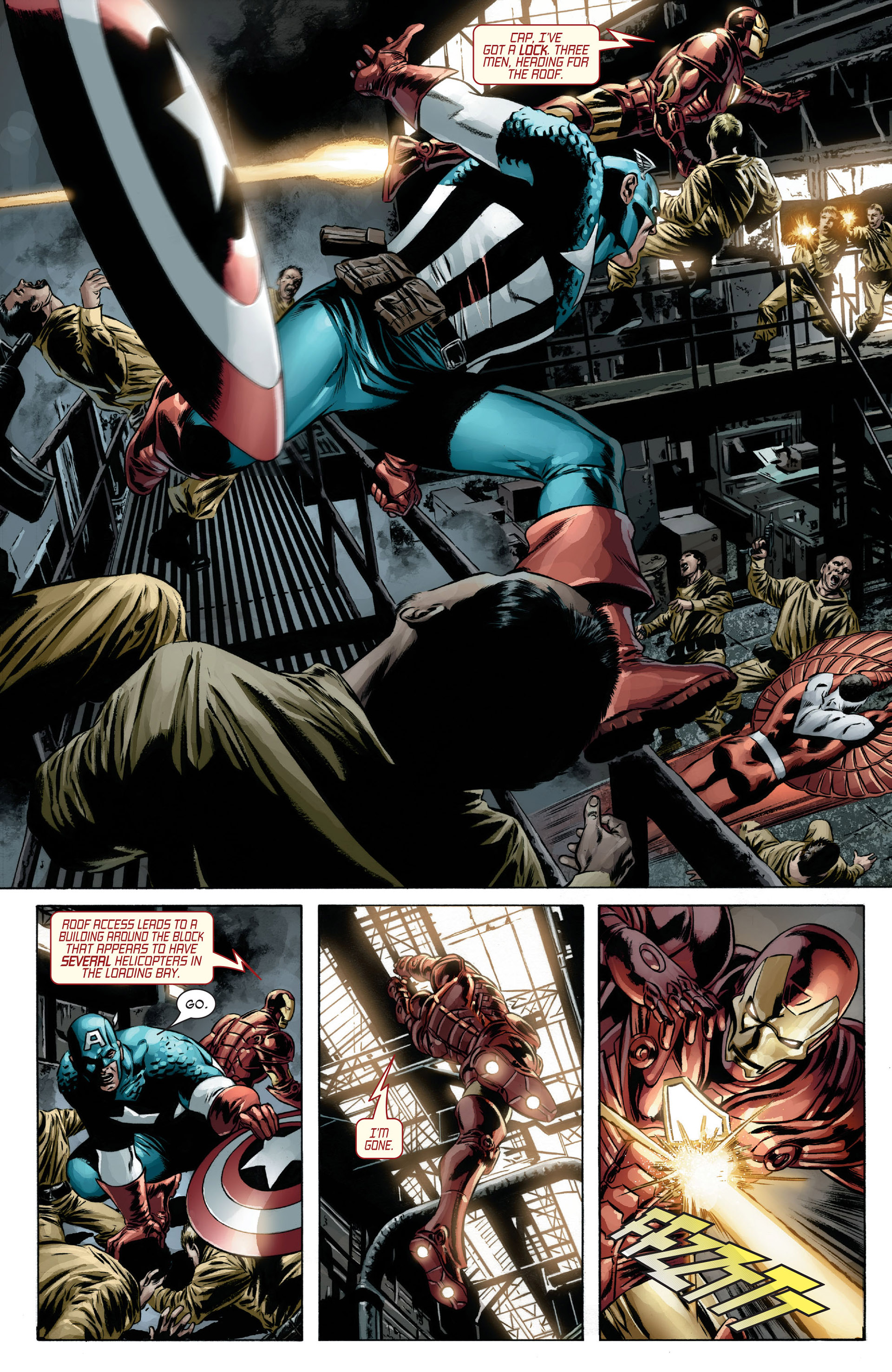 Captain America (2005) Issue #13 #13 - English 11
