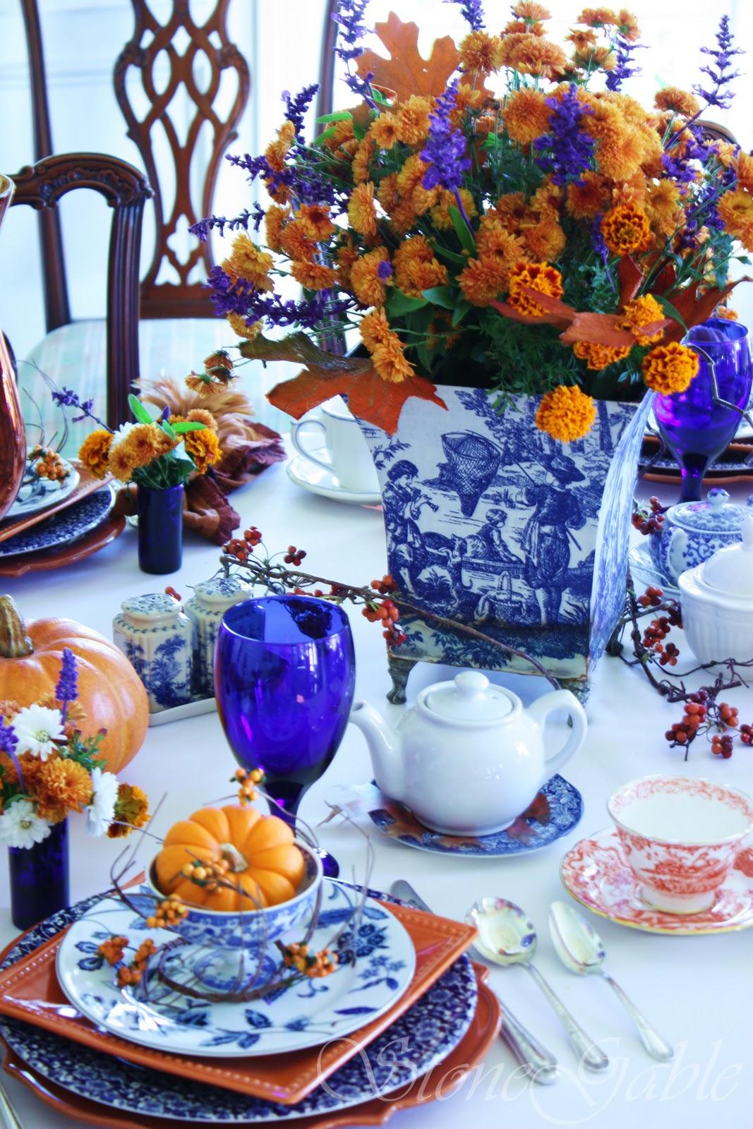 Autumn High Tea Stonegable