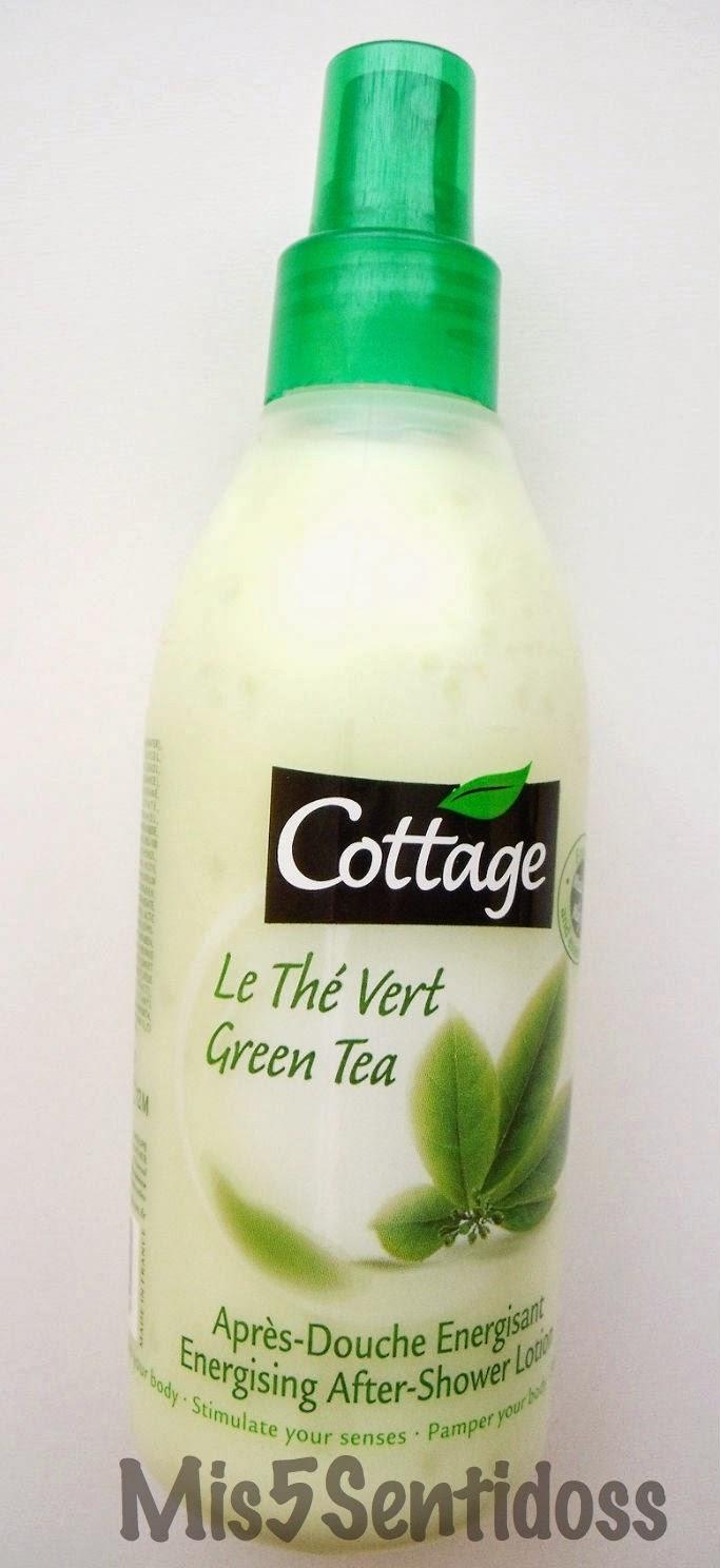 Cottage Loción de té verde