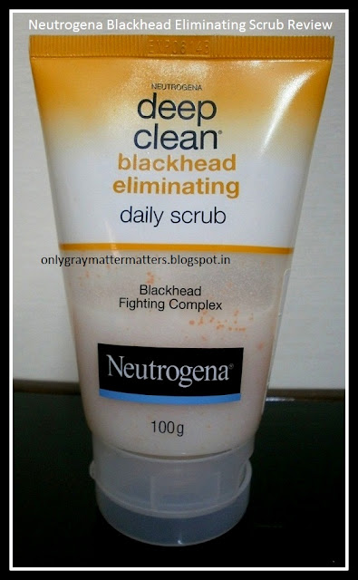 Neutrogena Blackhead Eliminating Daily Scrub Review