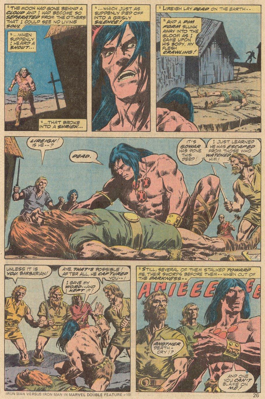 Conan the Barbarian (1970) Issue #69 #81 - English 16