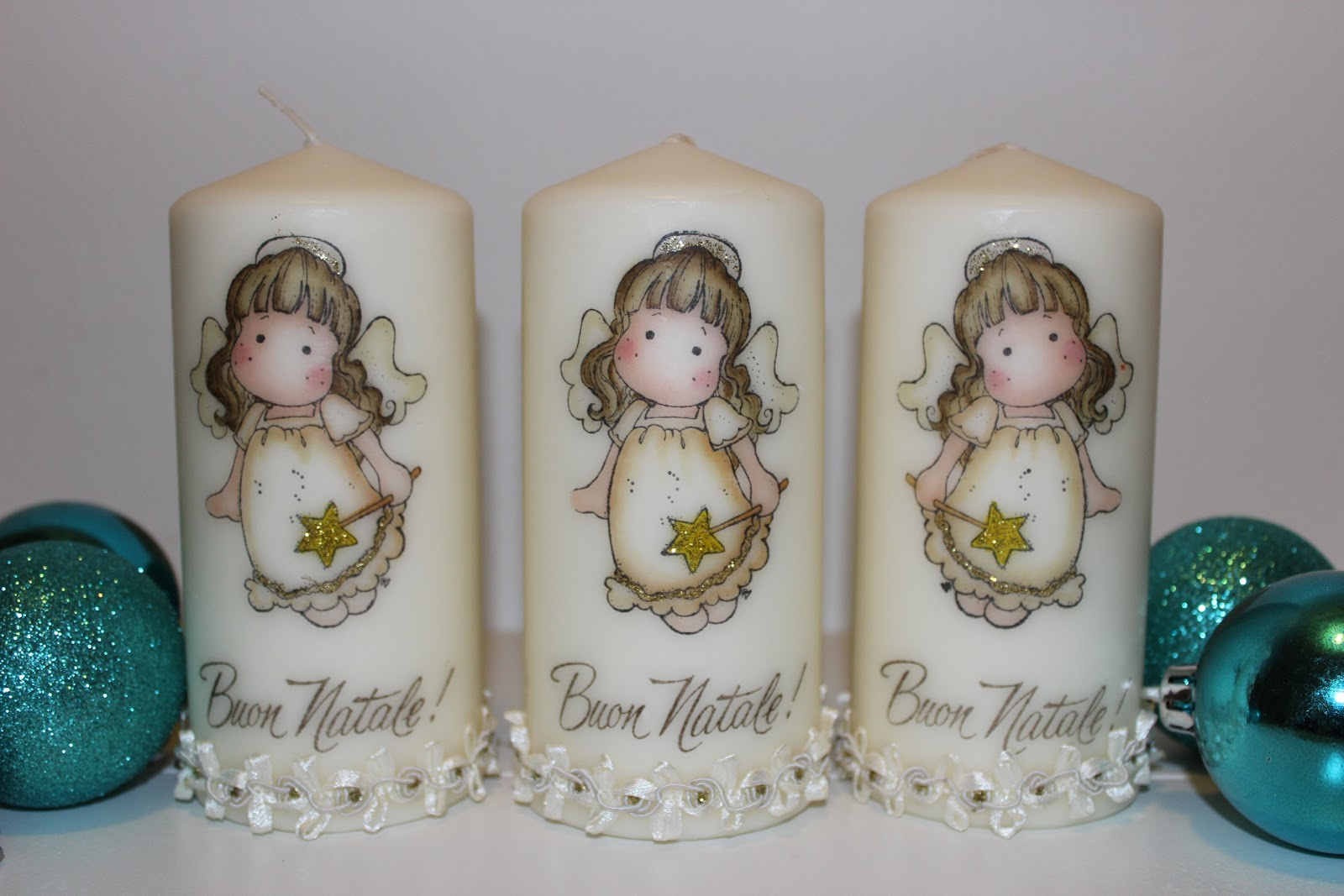 nice candele decorate per matrimonio nc86 pineglen