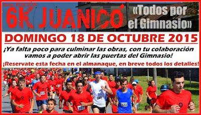 6k Todos por el gimnasio de Juanicó (Canelones, 18/oct/2015)