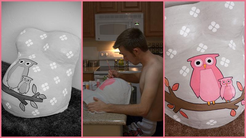 Oh !! La La .....BeBe: Regalo para Embarazadas - Crea tu Escultura ...