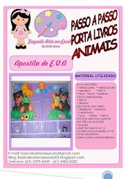 APOSTILA PORTA LIVROS ANIMAIS