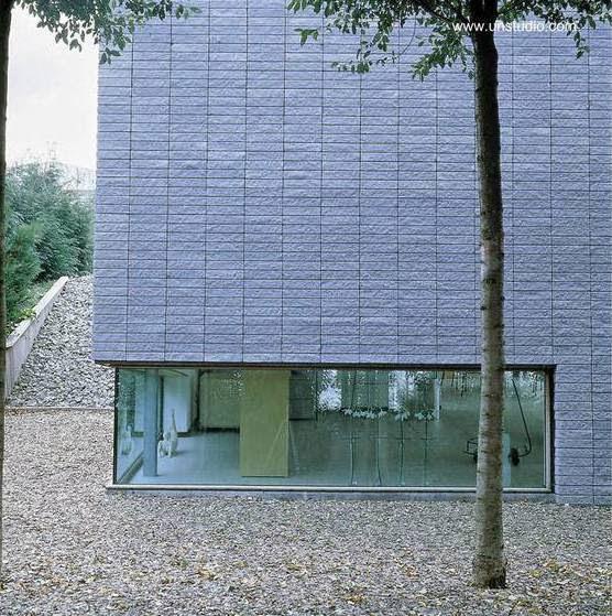 Sector de una moderna residencia holandesa