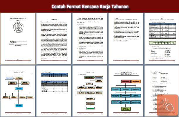 Contoh Format Rencana Kerja Tahunan Sekolah Wiki Edukasi