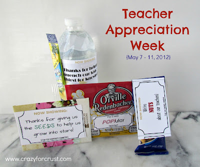 picture of Teacher Appreciation Week printables