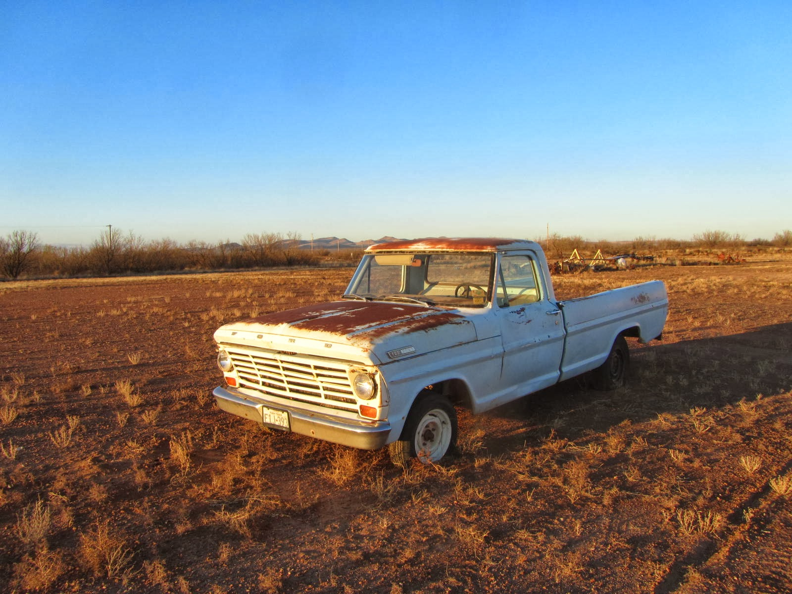 1967 Ford F 100 Valentine, Texas
