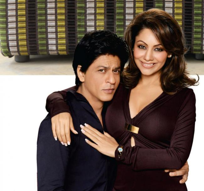 Shahrukh Gauri Khan Decor Photoshoot hot